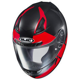 HJC CL-17 CL17 Boost Full Face Motorcycle Helmet With Flip Up Shield Red