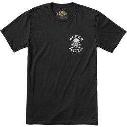 RSD Roland Sands Designs Mens Super Hooligan T-Shirt Black