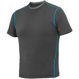 Firstgear Mens 37.5 Basegear Short Sleeve Layering Shirt Top Black