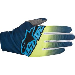 Alpinestars Mens Dune-2 MX Motocross Offroad Textile Riding Gloves Black