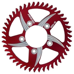 Vortex CAT5 37 Tooth 520 Rear Aluminum Sprocket For Ducati Red 110AZR-37 Red