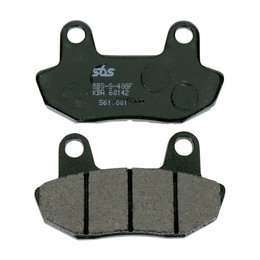 SBS Ceramic Front Brake Pads Single Set Only Honda CB450 CB650 VT700 VT750 561HF Unpainted