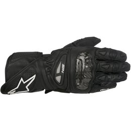 Alpinestars Mens SP-1 Touch Screen Leather Gloves Black