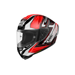 Shoei X-Fourteen X14 X-14 Assail Full Face Helmet Red