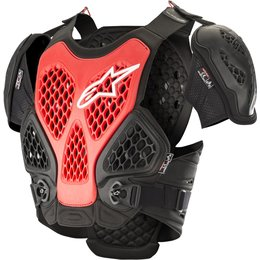 Alpinestars Mens Bionic Chest Protector Roost Guard Black