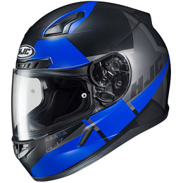 HJC CL-17 CL17 Boost Full Face Motorcycle Helmet With Flip Up Shield Blue