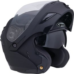 GMax GM54S Modular Helmet With Flip Up Shield And Built In LED Light Black