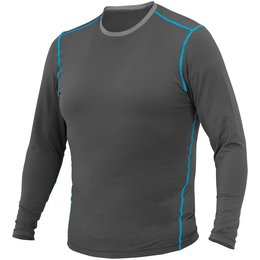 Firstgear Mens 37.5 Basegear Long Sleeve Layering Shirt Top Black