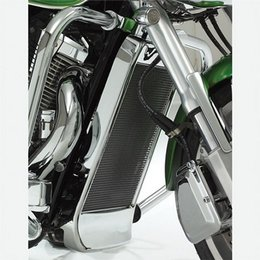 Chrome Show Radiator Grille Mesh For Honda Vtx1800 Vtx 1800