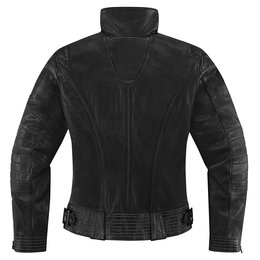 Black Icon Womens 1000 Collection Fairlady Leather Jacket 2014