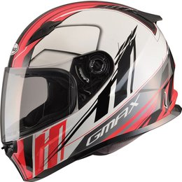GMAX FF49 FF-49 Rogue Full Face Helmet White