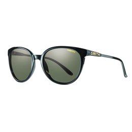 Black/grey Green Smith Optics Womens Cheetah Sunglasses With Polarized Lens 2014 Black Grey Green