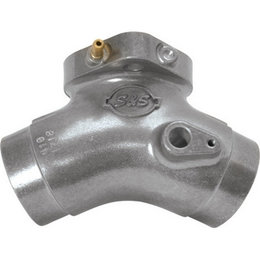S&S Cycle Manifold For Harley FLH/T/R/S Silver