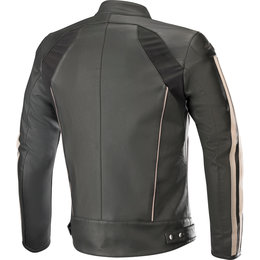 Alpinestars Mens Dyno V2 Leather Jacket Black