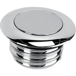 Drag Specialties Non-Vented Pop-Up Gas Cap For Harley-Davidson Chrome 0703-0292