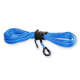 KFI Replacement Synthetic Cable For ATV Winch 1/4 Inch X 50 Feet Blue Universal