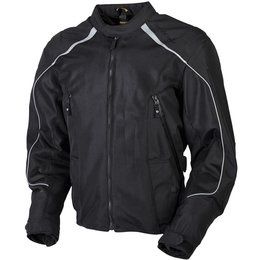 Scorpion Mens Ascendants Armored Mesh/Textile Jacket Black