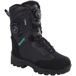 Klim Womens Aurora GTX Boa Gore-Tex Insulated Snowmobile Boots Black