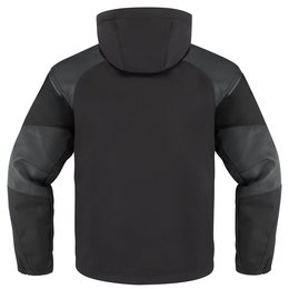 Icon Mens 1000 Collection Basehawk Armored Softshell Motorcycle Jacket Black