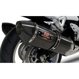 Stainless Steel Mid Pipes/carbon Fiber Mufflers/carbon Fiber End Caps Yoshimura R-77 Epa Comp Dual Slip-on Mufflers Ss Cf Cf F Suzuki Gsx-1300r 08-12