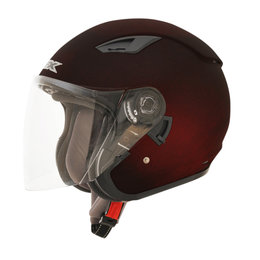 AFX FX-46 FX46 Open Face Helmet Red