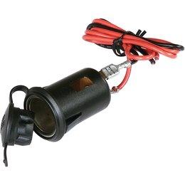 SPI 12 Volt Power Snowmobile Outlet Black Universal SM-01085 Black