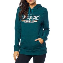 Fox Racing Womens Retro Fox Pullover Hoody Blue