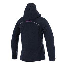 Black, Pink Alpinestars Womens Stella Tornado Air Hooded Textile Jacket 2015 Blk Pink