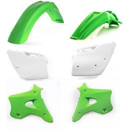 Acerbis Full Plastic Kit For Kawasaki KX125 1994-1998 Original 2070980208 Green