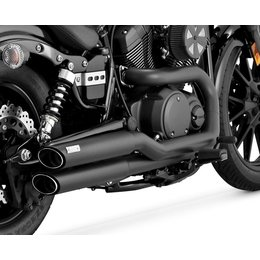 Vance & Hines Twin Slash Staggered Dual Exhaust System For Yamaha 48531