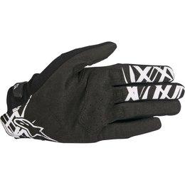 Alpinestars Mens Racefend MX Motocross Offroad Textile Riding Gloves Black