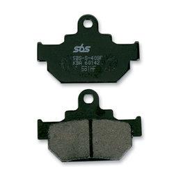 SBS Ceramic Front Brake Pads Single Set Only Suzuki RM125 250 LS650P 581HF Unpainted