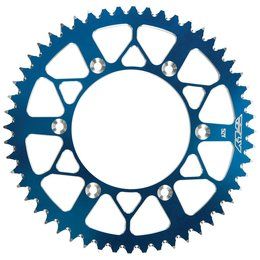 Fly Racing Aluminum Rear Sprocket 46 Teeth For Suzuki Yamaha Blue 255-550546B Blue