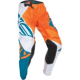Fly Racing Youth Boys Evolution 2.0 Pants Orange, Dark Teal