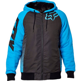 Fox Mens Dispatched Sasquatch Lined Zip Hoody Blue