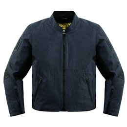 Icon Mens 1000 Collection Akromont Armored Textile Riding Jacket Black