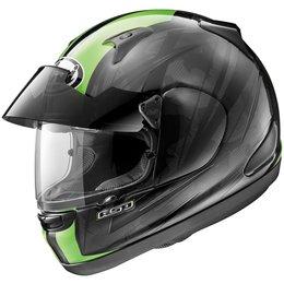 Green Arai Signet-q Pro-tour Scheme Full Face Helmet