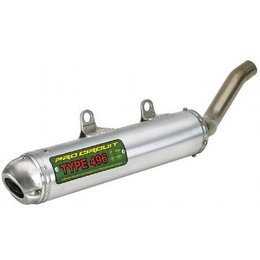 Pro Circuit Type 496 Muffler For Kawasaki KSF-250 4QK86250-496 Metallic