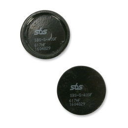 SBS ATV Ceramic Rear Brake Pads Single Set Only Yamaha Tri Moto YT125 617HF-PU Unpainted