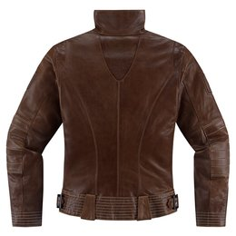 Brown Icon Womens 1000 Collection Fairlady Leather Jacket 2014