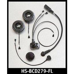 J&M HS-ICD279 High Output Modular Helmet Headset