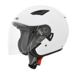 AFX FX-46 FX46 Open Face Helmet White