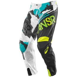 Black, Teal Answer Boys Limited Edition Elite Pants 2015 Us 18 Black Teal