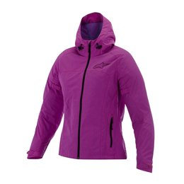 Pink Alpinestars Womens Stella Tornado Air Hooded Textile Jacket 2015