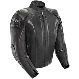 Joe Rocket Mens Atomic 5.0 Armored Textile Jacket Black