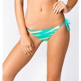 Fox Racing Womens Image Side Tie Bikini Bottom Green