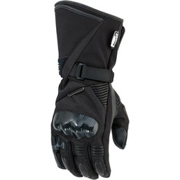 Moose Racing Mens ADV1 Long Textile Gloves Black