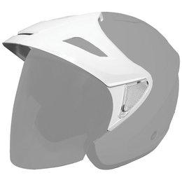 White Cyber Replacement Visor For U-378 Open Face Helmet