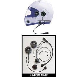 J&M HS-ICD279 Standard Full Face Helmet Headset