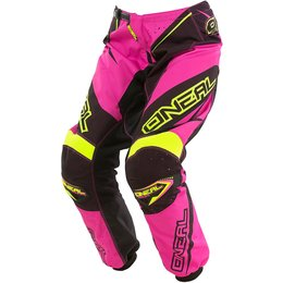 Oneal Youth Girls Element Motocross MX Textile Pants Pink